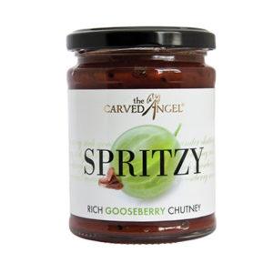Spritzy Rich Gooseberry Chutney (330g)