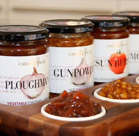 Ploughmans Vegetable Chutney with Real Ale (320g)
