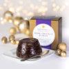 Double Chocolate & Cherry Christmas Pudding