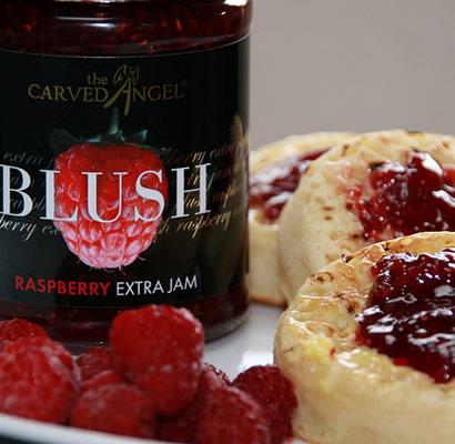 Blush Raspberry Extra Jam (340g)