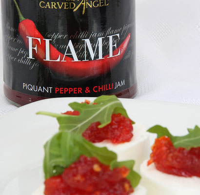 Flame Piquant Pepper Jam with Chilli (340g)