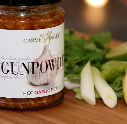 Gunpowder Hot Garlic Pickle (325g)