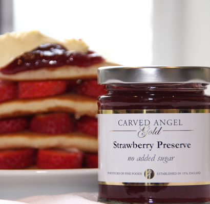 Strawberry Preserve 'No Added Sugar' (215g)