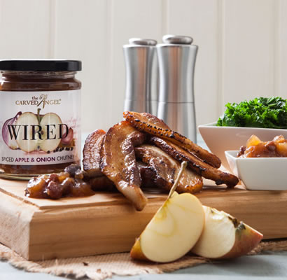 Wired Spiced Apple & Onion Chutney
