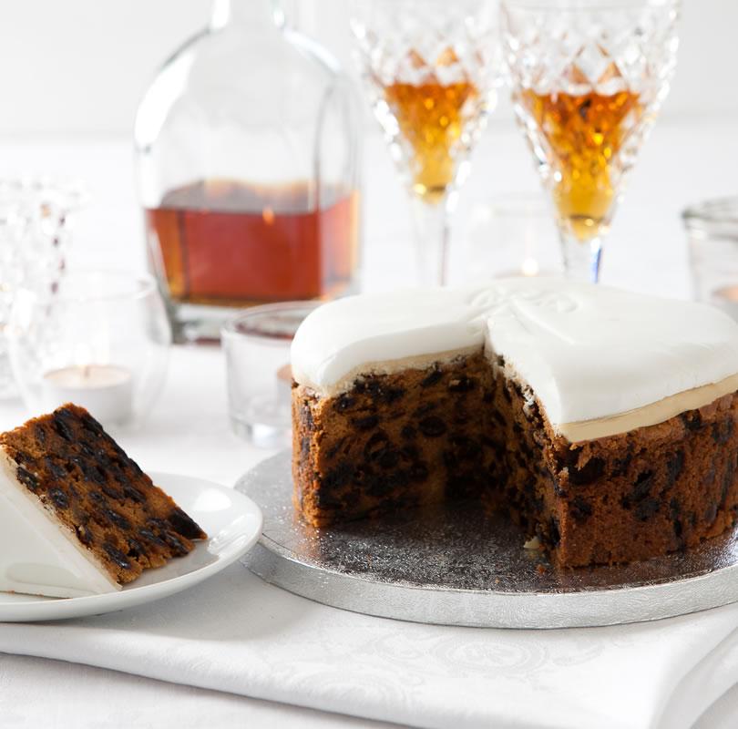 Luxury Christmas Cake (Large)