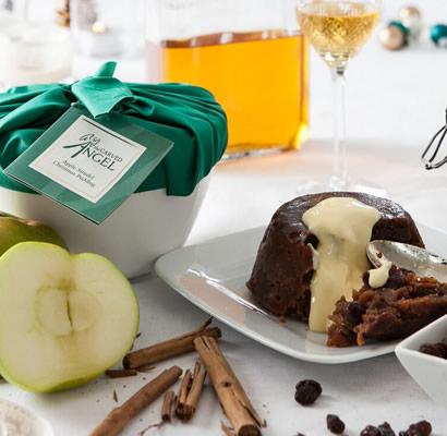 Apple Strudel Christmas Pudding